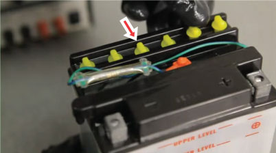 วิธีเตรียมแบตเตอรี่มอเตอร์ไซค์ก่อนใช้งาน