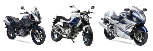 มอเตอร์ไซค์ค่าย Suzuki ใช้หัวเทียนเบอร์อะไร