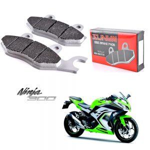 ผ้าเบรค Ninja250, Ninja300, Z250, Z300