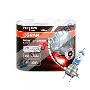 OSRAM H7-NBL_ไฟหน้า Night Breaker Laser 130%
