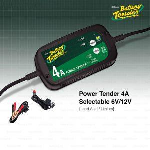 BATTERY TENDER เครื่องชาร์จแบตเตอรี่ รถยนต์ มอเตอร์ไซค์ Car/ Motorcycle Battery Charger รุ่น Power Tender 4A Selectable