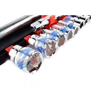 "Euro king tools บล็อกชุดอเนกประสงค์ 1/2"" (4 หุน) 12 ชิ้น"