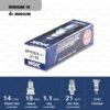หัวเทียน NGK BPR5EIX-11 ขั้ว Iridium (1 หัว) - Made in Japan