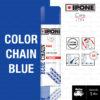 IPONE BLUE CHAIN LUBE สเปร์หล่อลื่นโซ่ เคลือบโซ่แต่งสีน้ำเงิน