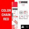 IPONE RED CHAIN LUBE สเปร์หล่อลื่นโซ่ เคลือบโซ่แต่งสีแดง