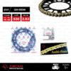 JOMTHAI ชุดโซ่-สเตอร์ Honda CBR1000RR | โซ่ ZX-ring สีทอง และ สเตอร์สีดำ[16/42]