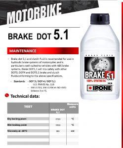 น้ำมันเบรก Brake Fluid Dot 5.1