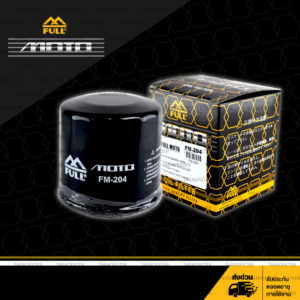 FULL MOTO กรองน้ำมันเครื่องมอเตอร์ไซค์ 【 FM-204 】 ใช้สำหรับมอเตอร์ไซค์บิ๊กไบค์ Honda Bigbike รุ่น Forza300, CB500X, CBR500R, CB500F, CB650F, CBR1000RR ฯลฯ