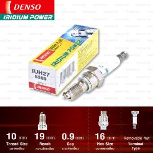 หัวเทียน DENSO IUH27 ขั้ว Iridium
