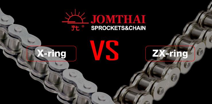 โซ่ JOMTHAI X-ring กับ ZX-ring ต่างกันตรงไหน
