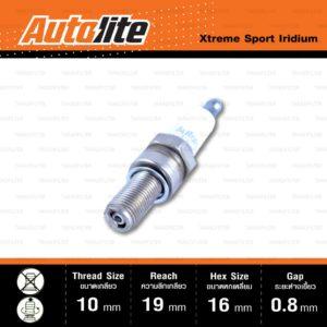 หัวเทียน Autolite XS4303 ขั้ว Iridium Xtreme Sport ใช้แทน CR8E / CR8EIX