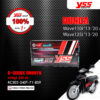 YSS โช๊คแก๊ส G-SERIES Smooth ใช้อัพเกรดสำหรับ Honda Wave 110i / Wave 125i ปี 2013-2020 【 RC302-340T-71-859 】 [ โช๊ค YSS แท้ 100% พร้อมประกันศูนย์ 1 ปี ]