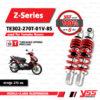 YSS โช๊คแก๊ส Z-Series ใช้อัพเกรดสำหรับ Yamaha Nouvo MX / SX / 135 / Elegance【 TE302-270T-01V-85】 [ โช๊ค YSS แท้ ประกันโรงงาน 6 เดือน ]