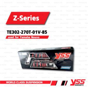 YSS โช๊คแก๊ส Z-Series ใช้อัพเกรดสำหรับ Yamaha Nouvo MX / SX / 135 / Elegance【 TE302-270T-01V-85】