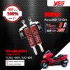 YSS โช๊คแก๊ส G-Series ใช้อัพเกรดสำหรับ Honda Forza300 ปีเก่า【TC302-400TL-03O-858】 โช๊คหลังสำหรับสกู๊ตเตอร์ สปริงแดงกระบอกดำ [ โช๊ค YSS แท้ ประกันโรงงาน 1 ปี ]