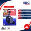 EBC ผ้าเบรกหลังรุ่น Organic ใช้สำหรับรถ CB1300 Super four , Vulcan650S , Ninja650 , DL650 V-strom , MT-07 , MT-09 , YZF-R1 '04-'14 [ FA174 ]