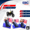 EBC ชุดผ้าเบรคหน้า-หลัง รุ่น Organic ใช้สำหรับรถ Suzuki รุ่น DL650 V-strom [ FA229-FA231-FA174 ]