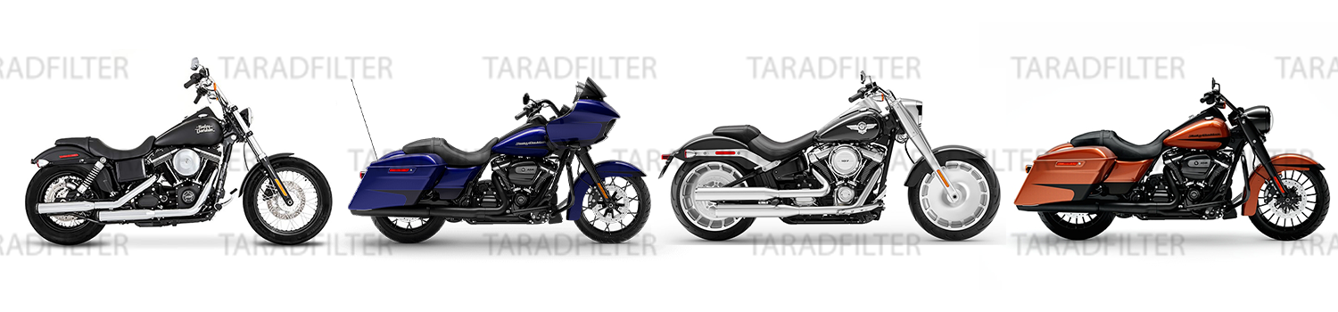 Harley Davidson Dyna / Fat boy / Softtail / Road Glide / Road King