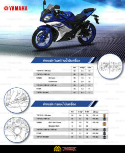 Yamaha oil set torque