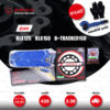 JOMTHAI ชุดโซ่-สเตอร์ Pro Series โซ่ X-ring สีน้ำเงิน และ สเตอร์สีดำ ใช้สำหรับ KLX125 / KLX150 / D-tracker125 [14/47]