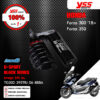 YSS โช๊คแก๊ส G-SPORT BLACK SERIES อัพเกรด HONDA Forza300 ปี 2018 ขึ้นไป【 TG302-395TRJ-06-888A 】 แถมฟรี สปริง Heavy Duty [ โช๊ค YSS แท้ ประกันโรงงาน 1 ปี ]