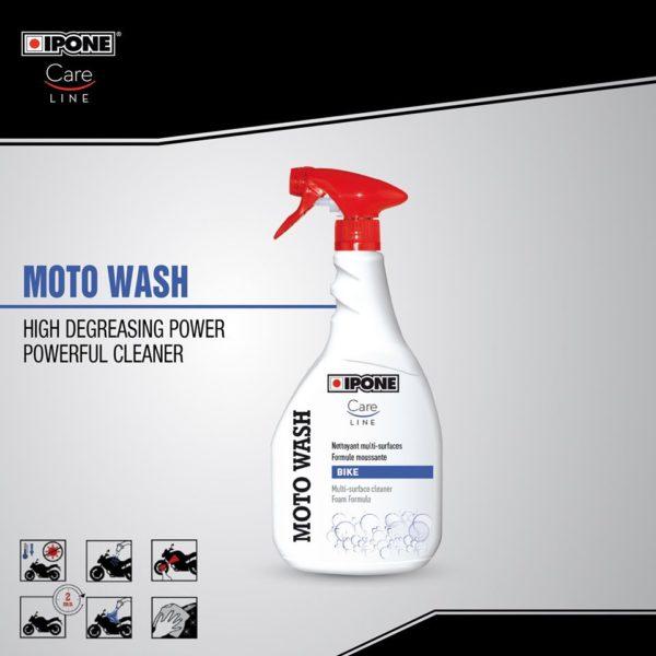 IPONE MOTO WASH สเปรย์ล้างรถอเนกประสงค์