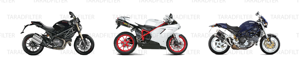 Ducati 1100 Monster Evo '11-'12 / 848 Evo '11-'13 / 1000 Monster S2R '06-'08