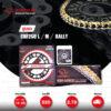 JOMTHAI ชุดเปลี่ยนโซ่-สเตอร์ Pro Series โซ่ X-ring (ASMX) สีทอง และ สเตอร์สีดำ เปลี่ยนมอเตอร์ไซค์ Honda CRF250 M / L / Rally [14/39]