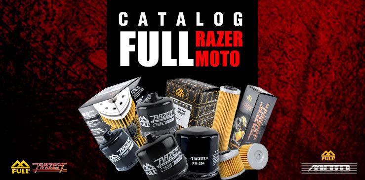 CATALOG กรองเครื่องมอเตอร์ไซค์ บิ๊กไบค์ และเวสป้า FULL RAZER FULL MOTO