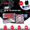 JOMTHAI ชุดเปลี่ยนโซ่-สเตอร์ Pro Series โซ่ X-ring (ASMX) สีแดง และ สเตอร์สีดำ เปลี่ยนมอเตอร์ไซค์ Yamaha MT-15 / YZF-R15 2017-2020 [14/48]