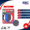 EBC ผ้าเบรกหน้ารุ่น Carbon Scooter ใช้สำหรับ Forza300 New model 2018-2020 / CB500X / CB650F / CBR650F [F] [ SFAC142 ]