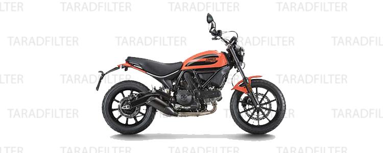 Ducati 400 Scrambler Sixty2 TRF