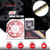 JOMTHAI ชุดเปลี่ยนโซ่-สเตอร์ Pro Series โซ่ X-ring (ASMX) สีทอง และ สเตอร์หลังอลูมิเนียมอัลลอย สีแดง Honda CRF300L [14/48]