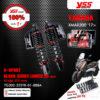 YSS โช๊คแก๊ส G-SPORT BLACK SERIES อัพเกรด Yamaha XMAX300 '17>【 TG302-325TR-01-888A 】 โช๊คคู่หลัง โหลดเตี้ยลง 25mm [ โช๊ค YSS แท้ 100% พร้อมประกันศูนย์ 1 ปี ]